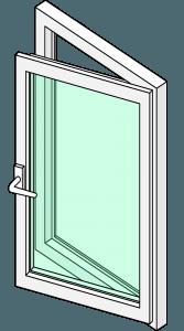 hinged-door